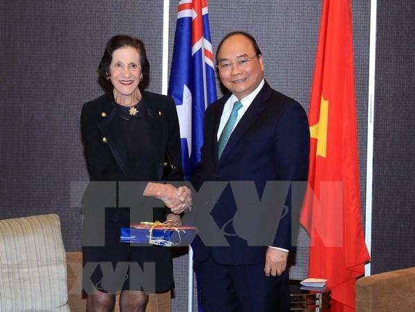 Premier vietnamita recibe a dirigentes de Nueva Gales del Sur hinh anh 1