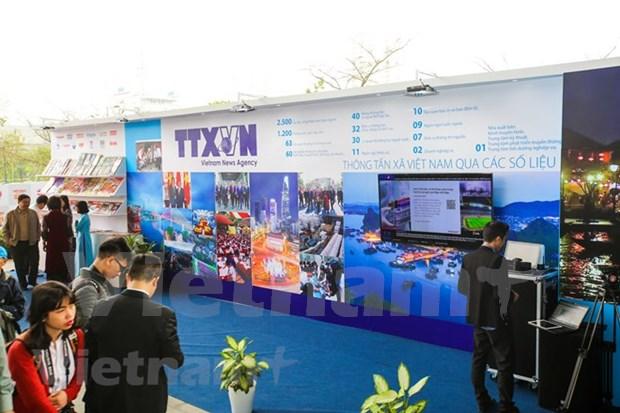 Inauguran en Hanoi Festival Nacional de la Prensa hinh anh 1