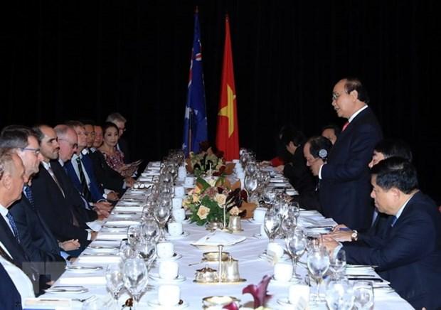 Vietnam se compromete a facilitar la inversion australiana hinh anh 1