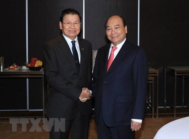 Premier de Vietnam se reune en Sidney con su homologo de Laos hinh anh 1