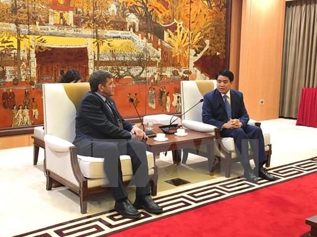 Hanoi e Irlanda cooperan en desarrollo de agricultura de alta tecnologia hinh anh 1