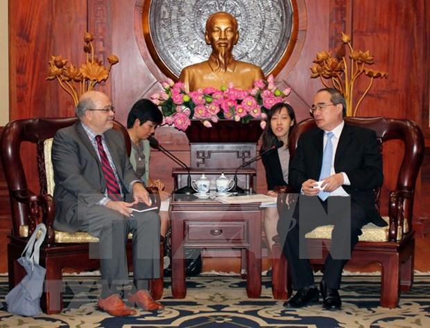Ciudad Ho Chi Minh y Fondo Monetario Internacional refuerzan cooperacion hinh anh 1