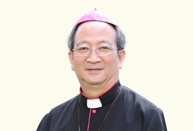 Dirigentes de Vietnam despiden al extinto arzobispo Paul Bui Van Doc hinh anh 1