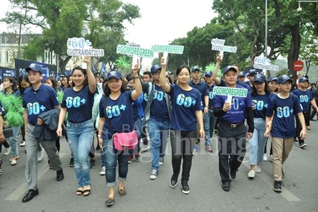 Hanoi se suma a la Hora del Planeta, iniciativa por el medio ambiente hinh anh 1