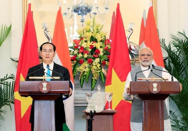 Visita de presidente vietnamita a India es importante para nexos bilaterales, afirman expertos hinh anh 1