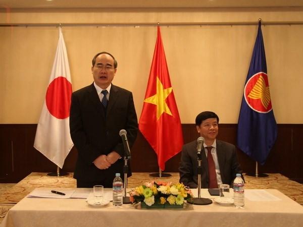 Ciudad Ho Chi Minh llama a mayores aportes de vietnamitas residentes en Japon hinh anh 1