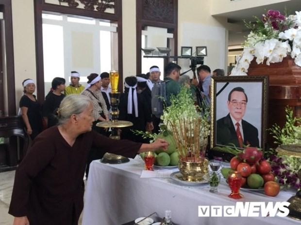 Dirigentes y pobladores se despiden al exprimer ministro Phan Van Khai hinh anh 1