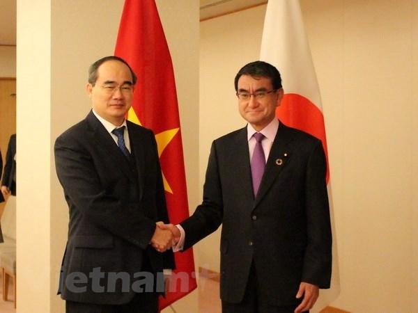 Ciudad Ho Chi Minh insta a mayor inversion de Japon en infraestructura hinh anh 1