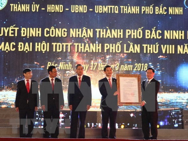 Vicepriemier urge a Bac Ninh a convertirse en ciudad moderna e inteligente hinh anh 1