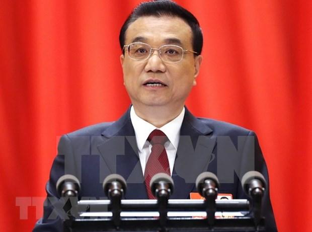 Vietnam felicita al reelegido primer ministro de China hinh anh 1