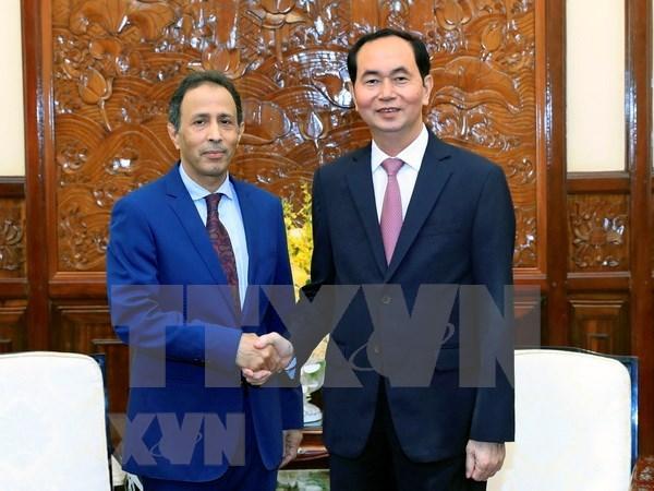 Presidente de Vietnam resalta nexos con Emiratos Arabes Unidos hinh anh 1