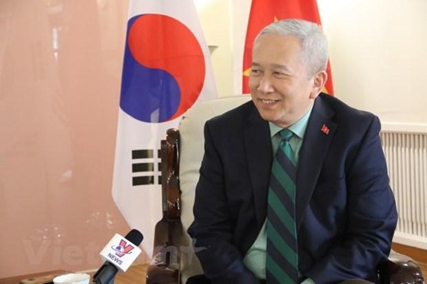 Visita de presidente de Sudcorea creara nuevo impulso para relaciones con Vietnam hinh anh 1