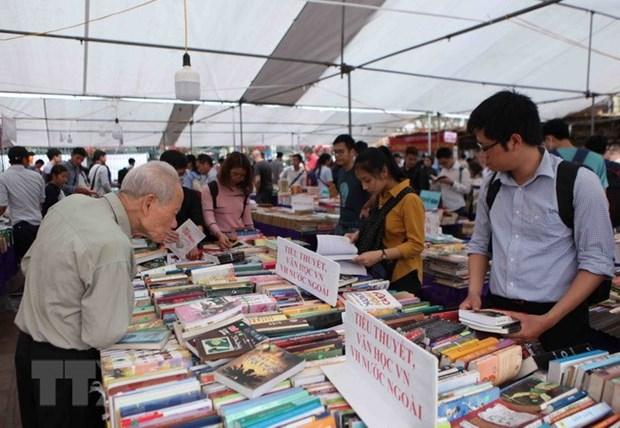 Efectuan decima edicion de Feria del libro de Ciudad Ho Chi Minh hinh anh 1
