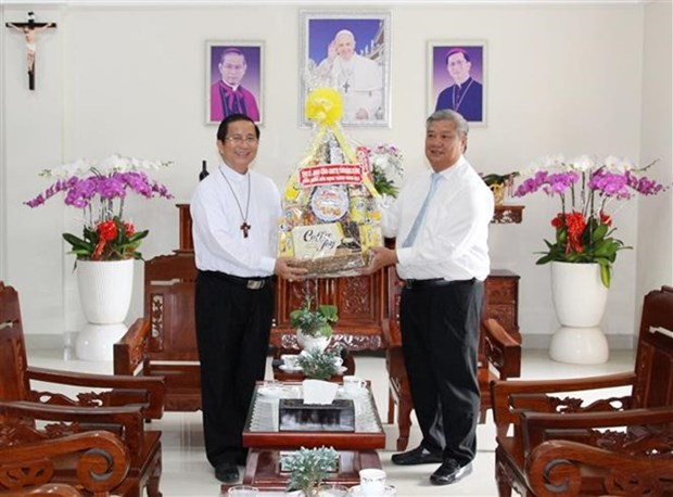 Felicitan a Diocesis de Phu Cuong en Dia de San Jose hinh anh 1