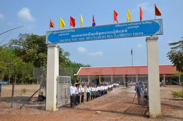 Camboya aprecia contribuciones de empresas vietnamitas al desarrollo socioeconomico hinh anh 1