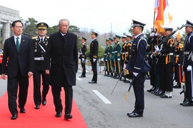Sudcorea y Singapur mantienen asociacion para abordar asuntos de seguridad hinh anh 1