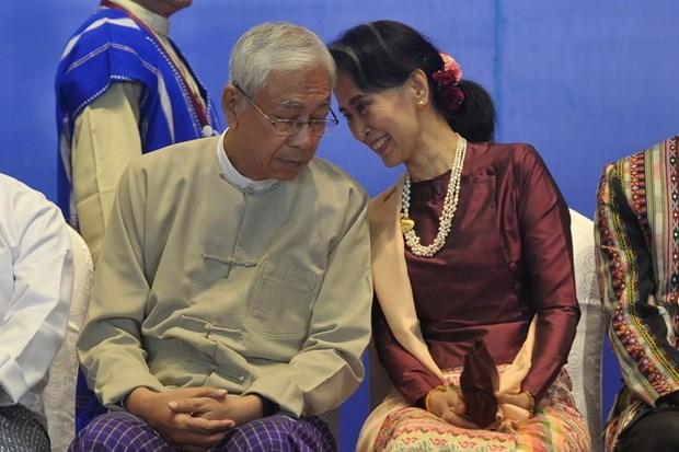 U Myint Swe asume como nuevo presidente interino de Myanmar tras renuncia de Htin Kyaw hinh anh 1