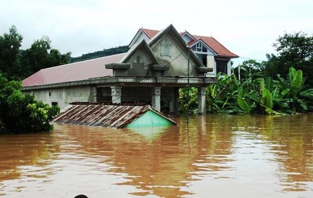 Construyen casas resistentes a tormentas para las victimas del tifon en Quang Nam hinh anh 1