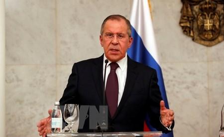 Serguei Lavrov visitara Vietnam hinh anh 1