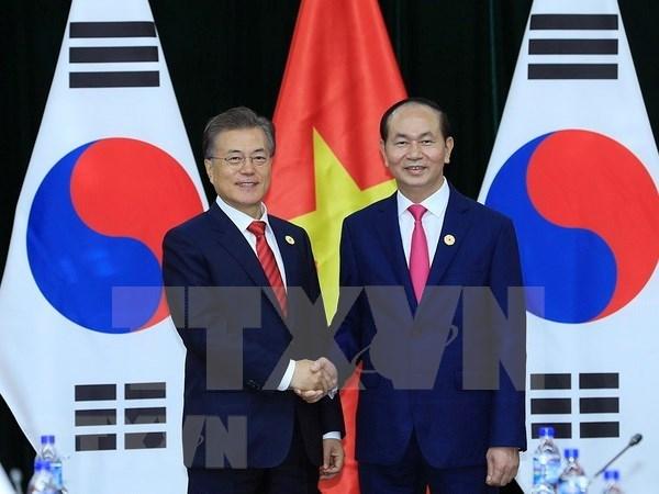 Sudcorea considera a Vietnam como socio esencial en su nueva politica del Sur hinh anh 1