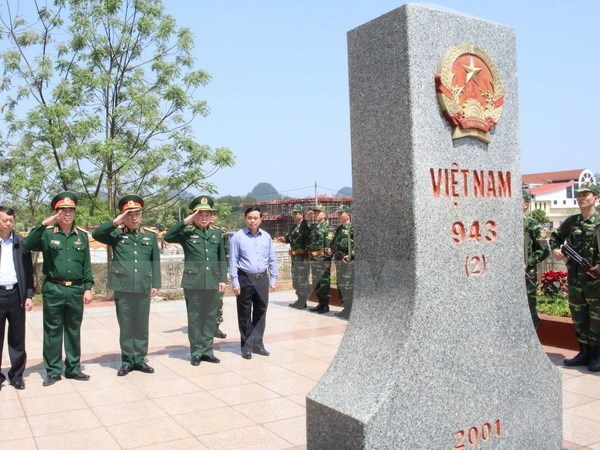 Cao Bang acogera intercambio amistoso de defensa fronteriza Vietnam-China hinh anh 1