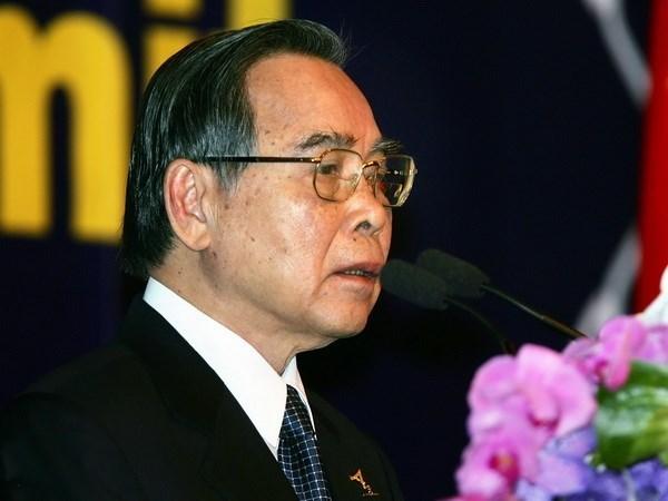 Medios de comunicacion extranjeros honran expremier vietnamita Phan Van Khai hinh anh 1