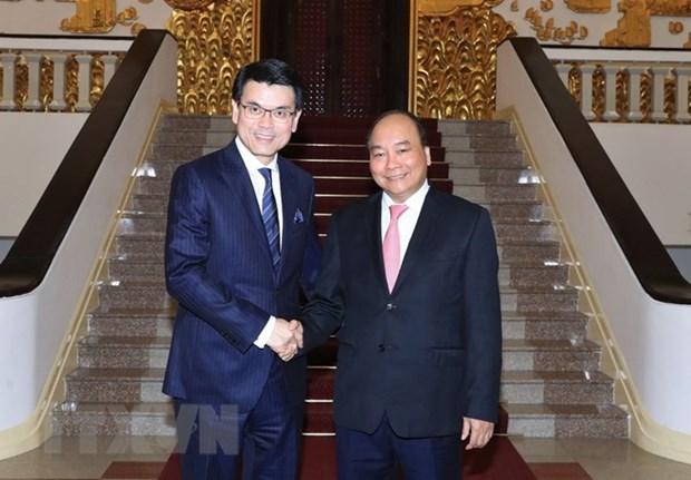 Premier de Vietnam aboga por fortalecer lazos comerciales con Hong Kong hinh anh 1