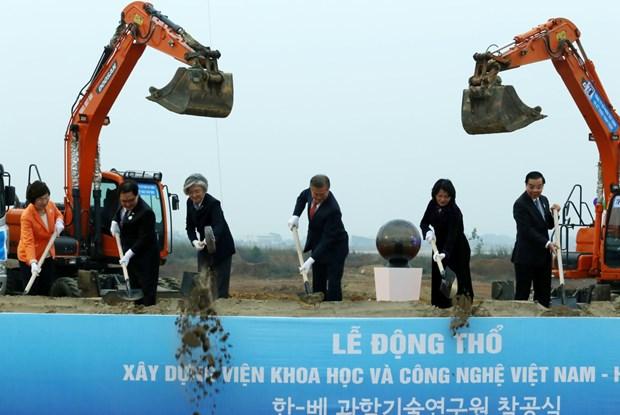 Vietnam y Sudcorea robustecen colaboracion en ciencia- tecnologia hinh anh 1