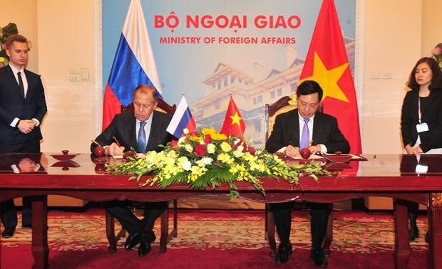 Fortalecen Vietnam y Rusia nexos bilaterales hinh anh 1