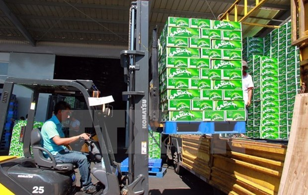 Mercado de bebidas y alimentos de Vietnam es atractivo para empresas extranjeras hinh anh 1