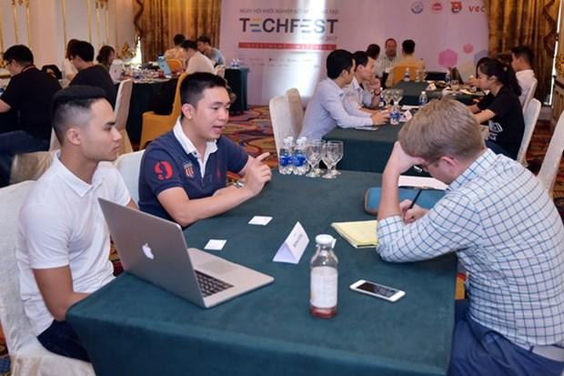 Empresas emprendedoras vietnamitas buscan captar inversiones extranjeras hinh anh 1