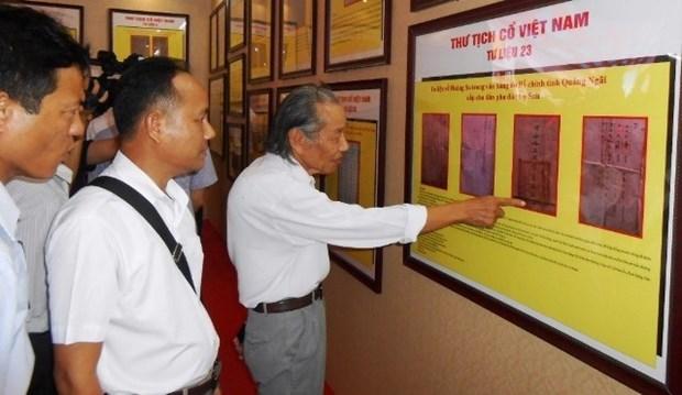 Exposicion muestra autoridad de Vietnam sobre Hoang Sa y Truong Sa hinh anh 1
