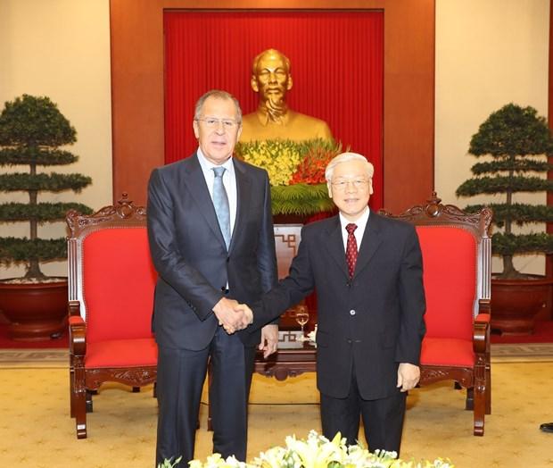Confianza politica sirve como base para cooperacion Vietnam-Rusia hinh anh 1