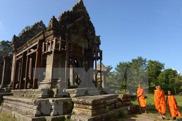 Tailandia y Camboya acuerdan elevar nexos hinh anh 1