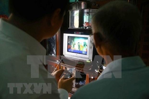 Vietnam fija fecha limite para final de transmision de TV analogica hinh anh 1