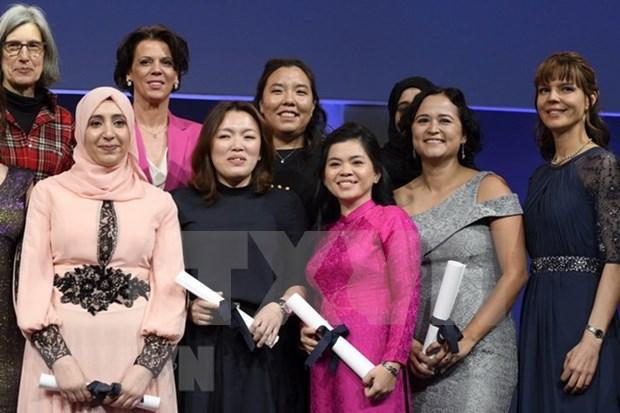 """Cientifica vietnamita recibe premio """"talento joven"""" en Paris hinh anh 1"""