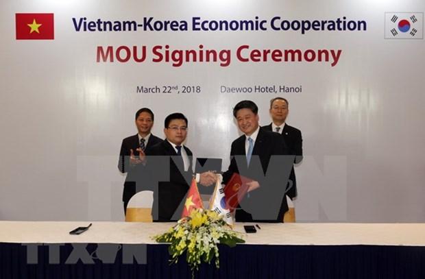 Vietnam y Sudcorea se empenan en promover intercambio comercial bilateral hinh anh 1