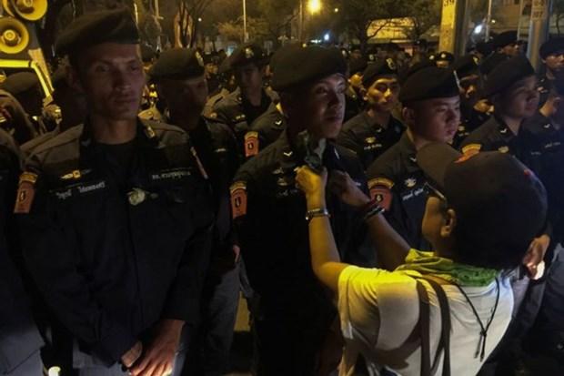 Tailandia: Manifestantes exigen celebracion de elecciones generales este ano hinh anh 1