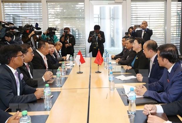 Vietnam espera a elevar comercio con Indonesia a 10 mil millones USD hinh anh 1