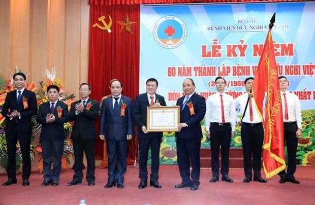 Premier felicita al Hospital de Amistad por 60 anos de fundacion hinh anh 1