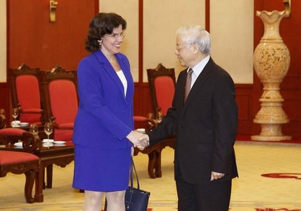 Reviste especial connotacion visita a Cuba del lider vietnamita Nguyen Phu Trong hinh anh 1
