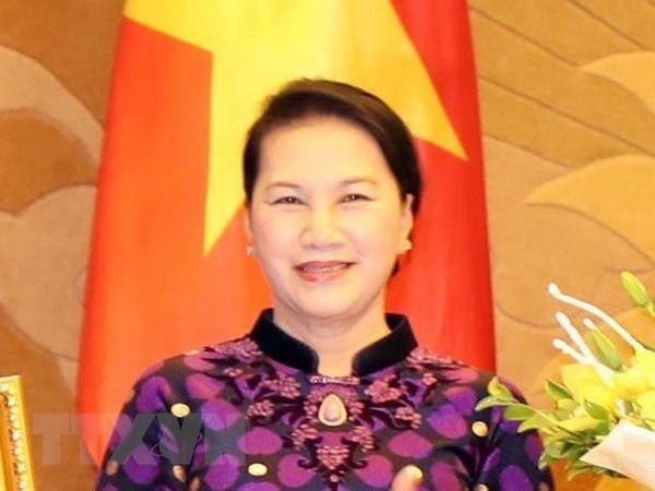 Visita de presidenta parlamentaria muestra dinamica de nexos Vietnam- Paises Bajos hinh anh 1