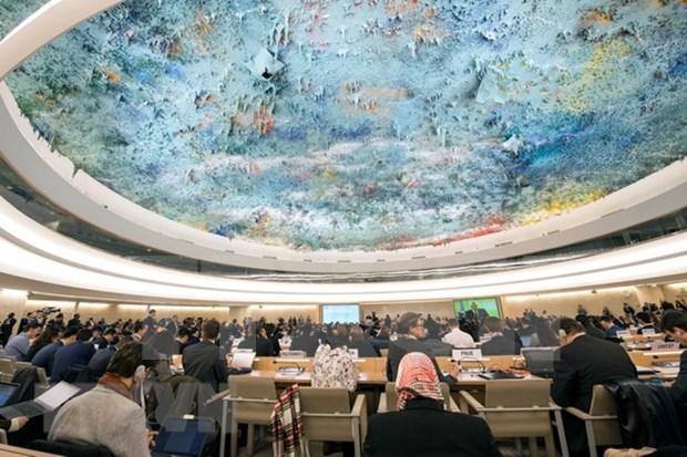 Activa participacion de Vietnam en el 37 periodo de sesiones del Consejo de Derechos Humanos hinh anh 1