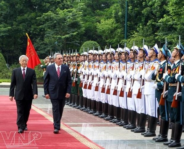 Visita a Cuba del maximo dirigente politico de Vietnam fortalecera la confianza politica binacional hinh anh 1