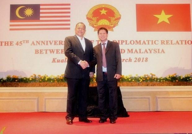Vietnam y Malasia mantienen excelentes relaciones de colaboracion hinh anh 1