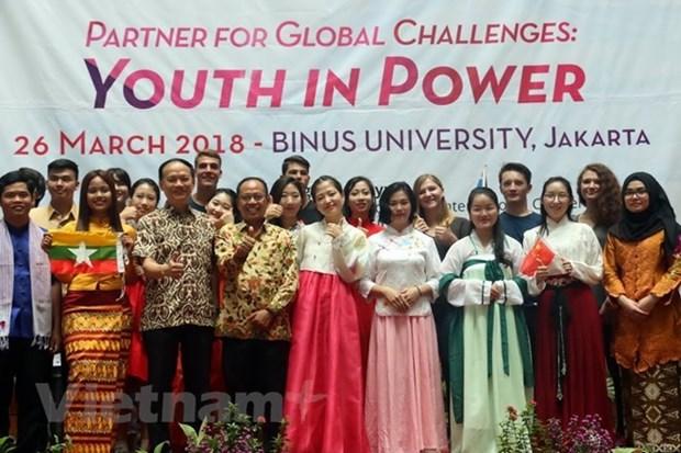 Dia de ASEM 2018 destaca papel de los jovenes frente a los desafios globales hinh anh 1