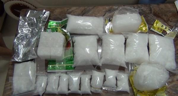 Arrestan en Vietnam a varios sujetos por transporte y venta ilegal de drogas hinh anh 1