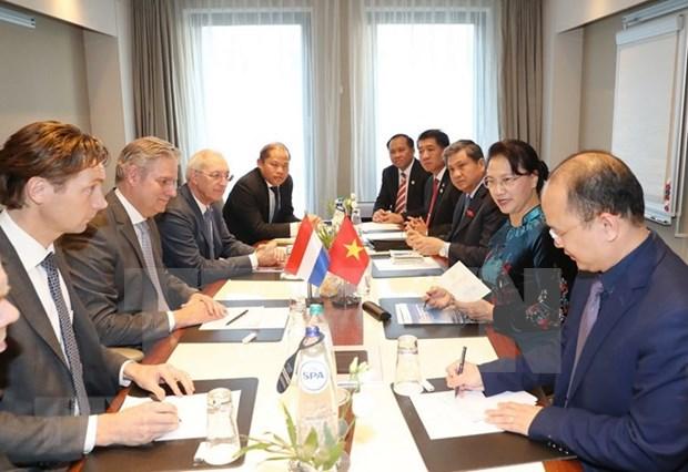 Vietnam promete entorno juridico favorable para empresas holandesas hinh anh 1