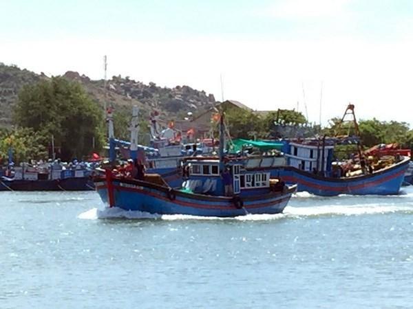 Sociedad de Pesca de Vietnam se opone a la veda china en Mar del Este hinh anh 1