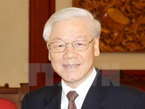 Tras exitos en Francia, maximo dirigente de Vietnam iniciara visita estatal a Cuba hinh anh 1